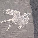 銀色ツバメの紗羽織 質感・風合