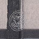 銀色ツバメの紗羽織 背紋