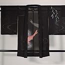 柳に流水と鯉の紋紗単衣羽織 正面
