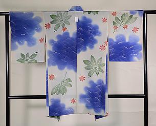 青楓の単衣羽織