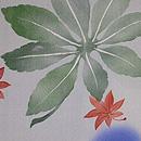 青楓の単衣羽織 質感・風合
