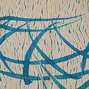 蛇籠にススキの小紋 質感・風合