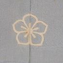 光琳水にトンボ文様単衣羽織 背紋
