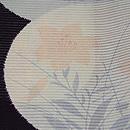 花の丸紋様絽の小紋 質感・風合