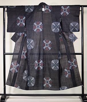 桜文様の宮古上布