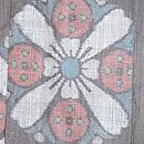 桜文様の宮古上布 質感・風合