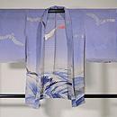 波にカモメ文様単衣羽織 正面