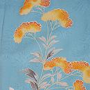 秋野の花文様単衣訪問着 質感・風合