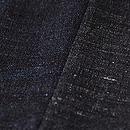 結城縮の片袖替わり袷 質感・風合