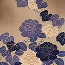 バラに菊文様羽織 質感・風合