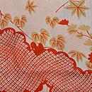 簾に梶の葉文様羽織 質感・風合