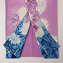 京紫に大輪菊の付下 上前