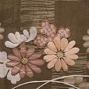 石畳に春秋花紋様お散歩着 質感・風合