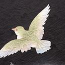 ワシと鳩の羽織 質感・風合