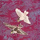 稲穂に雀の羽織 質感・風合