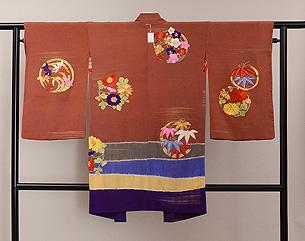 花丸紋の絵羽織