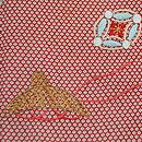 膨れ織りに柴束文様訪問着 質感・風合
