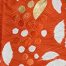南天の刺繍羽織 質感・風合