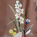 早春花の付下 質感・風合