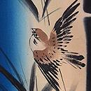 竹林に雀の羽織 質感・風合