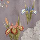 春のお花文様絵羽織 質感・風合
