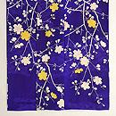 紫地桜の小紋 上前