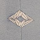 一つ紋おみなえしの裾模様単衣 質感・風合