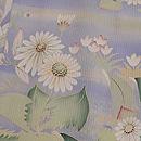 薄青紫春の野単衣訪問着 質感・風合