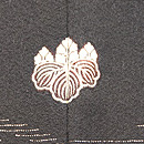 蝶々文単衣長羽織 背紋