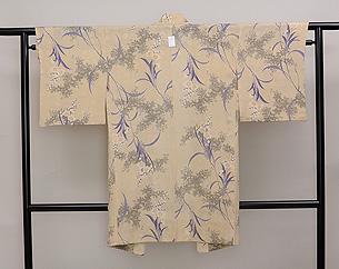 小紋調単衣羽織
