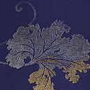 紋織石蕗単衣小紋 質感・風合