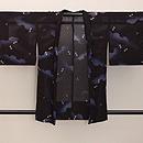 夏空に群れトンボ縦絽の羽織 正面