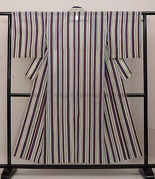 紋紗楊柳の縦縞
