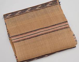 竹富の民芸調芭蕉布着尺