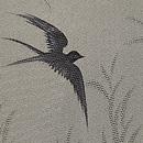 柳に燕単衣羽織 質感・風合