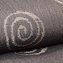 渦巻文様絹縮単衣着物 質感・風合