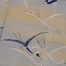 河辺文様絽の色留袖 質感・風合