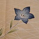 桔梗に女郎花 秋草の図付下 質感・風合