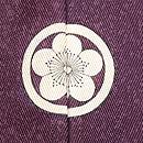 秋野に虫籠文様刺繍五つ紋訪問着 背紋