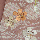 春の花々刺繍訪問着 質感・風合