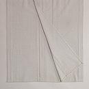 白地十字絣塩沢紬単衣 上前