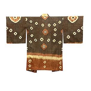 インドネシア絞りの羽織