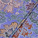 牡丹唐草緞子織半幅帯 質感・風合