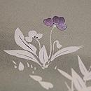 春の花かご文様名古屋帯 質感・風合