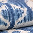 インドネシアトラジャの絣半巾帯 前柄
