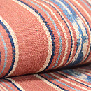 インドネシアの茜染め絣半巾帯 前柄