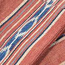 インドネシアの茜染め絣半巾帯 質感・風合