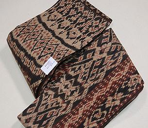 インドネシア絣半巾帯