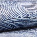 ナイジェリアヨルバの藍染め半巾帯 前柄