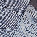 ナイジェリアヨルバの藍染め半巾帯 質感・風合